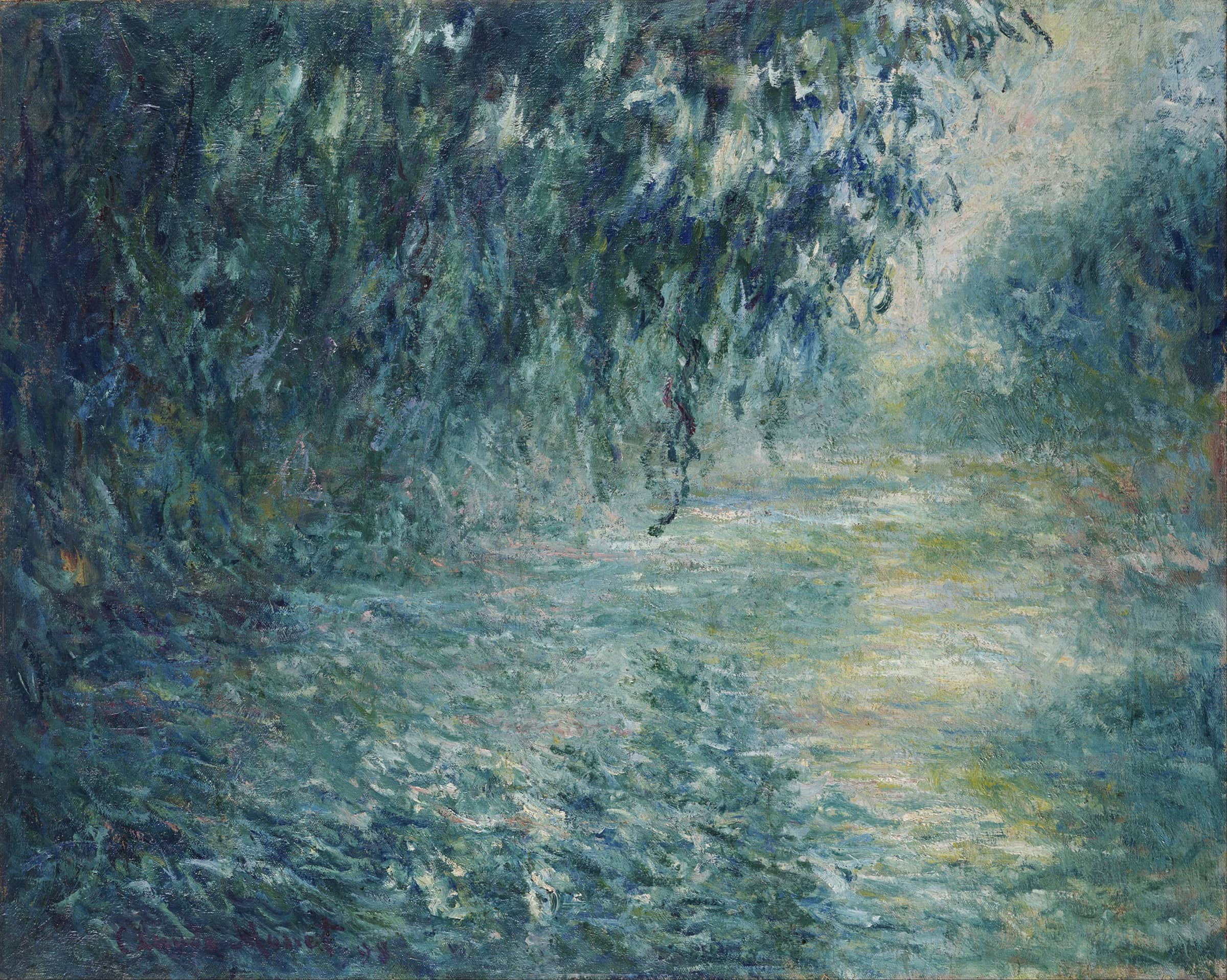 Morning on the Seine, Claude Monet, 1898