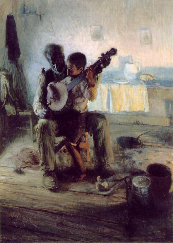 Henry Ossawa Tanner  The Banjo Lesson