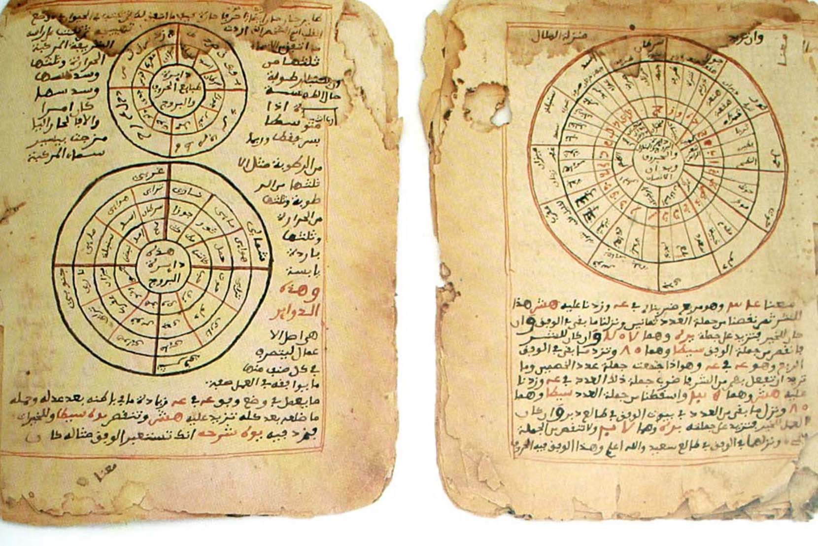 Manuscripts on astronomy and mathematics originating from Timbuktu