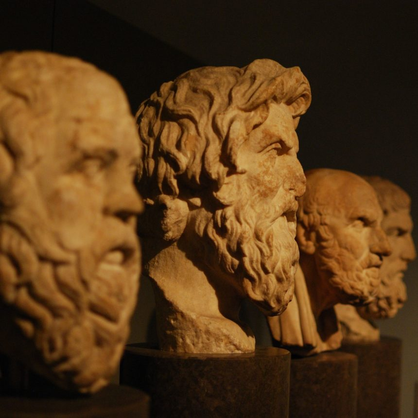 Greek Philosopher Busts